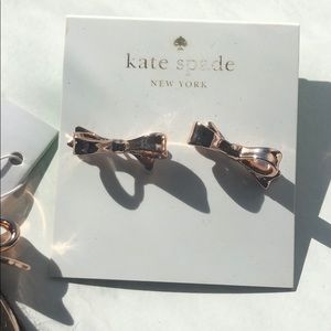NWT AUTHENTIC KATE SPADE BOW EARNINGS